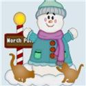 Snowman/Orange Kittens