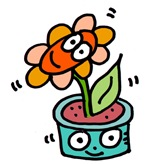 Wiggly Flower