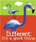 A Different Flamingo