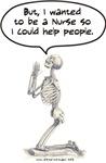 Nurse Skeleton Prayer