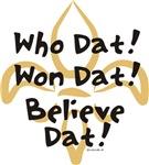 Who Dat, Won Dat!