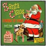 Vintage Santa Claus Record