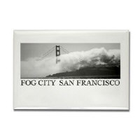 Fog City San Francisco Travel Magnet Gifts