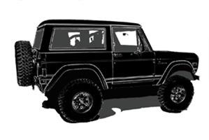 Classic Bronco Black