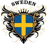 Swedish Flag T-shirts & Gifts