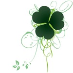 Shamrock [swirls]