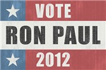 Vote Ron Paul 2012 Vintage