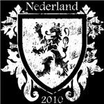 Netherlands - Crest - White