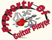 Property of Guitar Player Shop