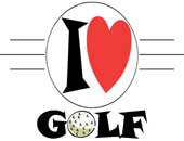 I Love Golf | Trendy T-Shirts & Gifts