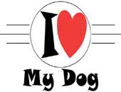 I Love My Dog | Trendy Gifts & T-Shirts