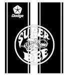 Dodge Super Bee Racing Stripes