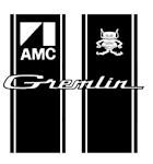 Gremlin racing stripes