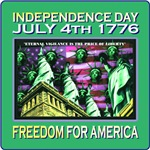 July 4th 1776 - Freedom America