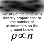 Density of cloud cover