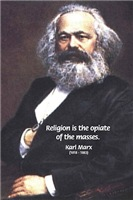 Karl Marx Communism Religion Opiate Masses