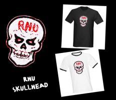 RHU SKULLHEAD TEES