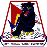 494th Tactical Fighter Squadron 'Panthers' - F-111