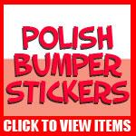 Polish Bumper Stickers