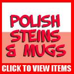 Polish Beer Steins and Mugs