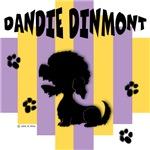 Dandie Dinmont Terrier Yellow/Purple Stripe