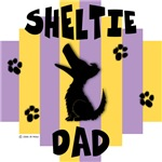 Sheltie Dad - Yellow/Purple Stripe