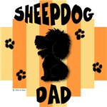 Sheepdog Dad Yellow/Orange Stripe