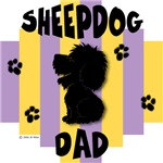 Sheepdog Dad Yellow/Purple Stripe