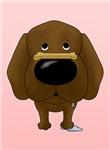 Chocolate Labrador - I Noz How To Treat You Right