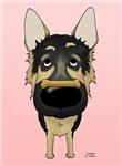 German Shepherd Dog - I Noz How To Treat You Right