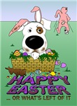 Jack Russell Terrier - Happy Easter