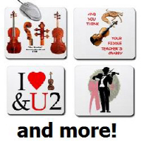 Click Here for Violin Mouse Pads
