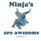 Ninja's are awesome