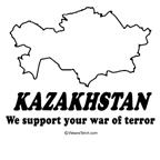Kazakhstan: We support your war of terror