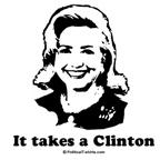 It takes a Clinton