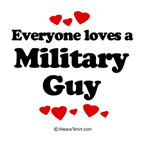 Everyone loves a Military guy