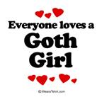 Everyone loves a Goth girl