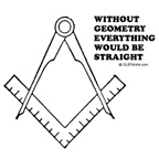 Without geometry, everything would be straight