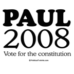Ron Paul 2008: Vote for the constitution