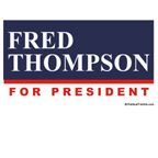 Fred Thompson for President