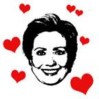 Hearts for Hillary