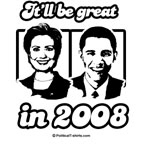 Clinton Obama: It'll be great in 2008