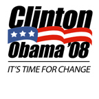 Clinton/Obama '08: It's time for a change