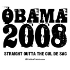Obama 2008: Outta the cul de sac