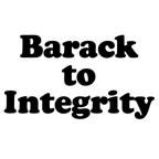 Barack to integrity