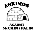 Eskimos against McCain/Palin