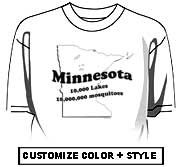 Minnesota - 10,000 lakes, 10,000,000 mosquitos