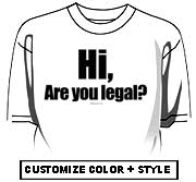 Hi, are you legal?