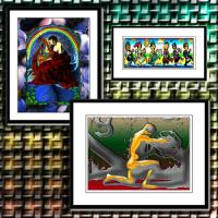 Framed Panel Prints, Small & Large Fra