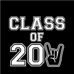 Class of 2011 Rocks White